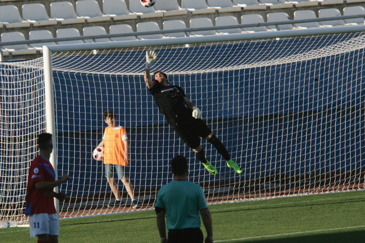 Antonio Pena in action at Lorca