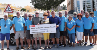 Cheque Presentation to FAST