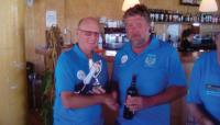 Overall Winner Paul Davis with Captain Kevin Jones