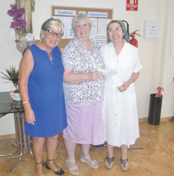 HELP presentation made to the Nuns of Sucina