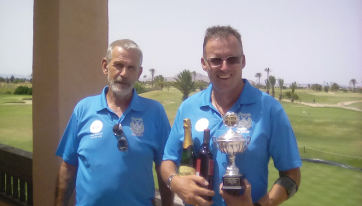 Division one winner CHRIS MORRISwith PAUL WESTERN