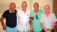 Winnners l to r. Dave Smith (guest), Marshall Shields & John Girvan.