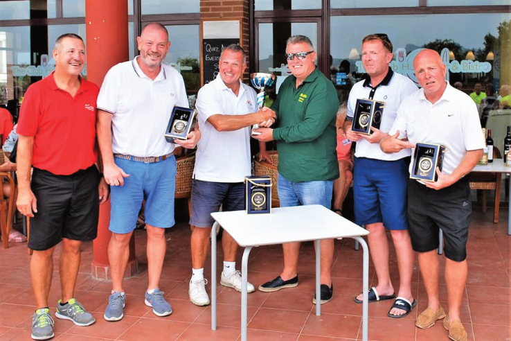 Winning Texas Scramble Team FAST Competition