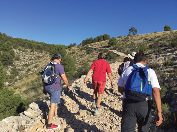 Uphill near Caravaca
