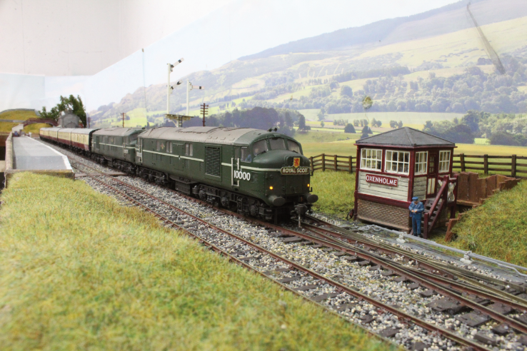 LMS twins with Royal Scot