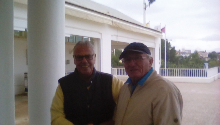 Division one winner  GERRY with DAVE
