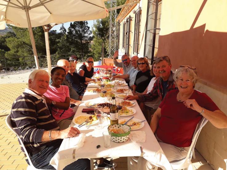 Lunch at SIULA-Casas Nuevas