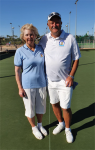 MBC Ladies and Men'sSingles Champions 2020 Helen and Colin