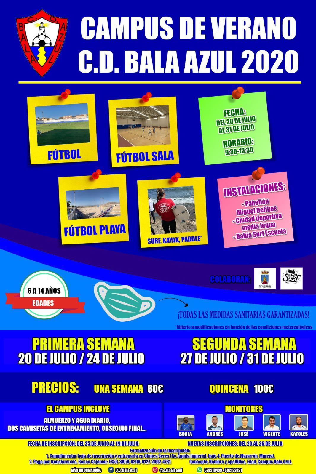 Summer Campus with Bala Azul Sports Club