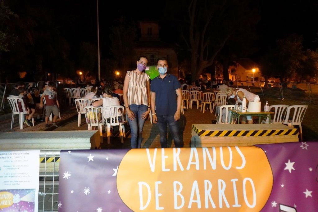 'Veranos de Barrio' was launched in the 'La Cañadica' neighbourhood
