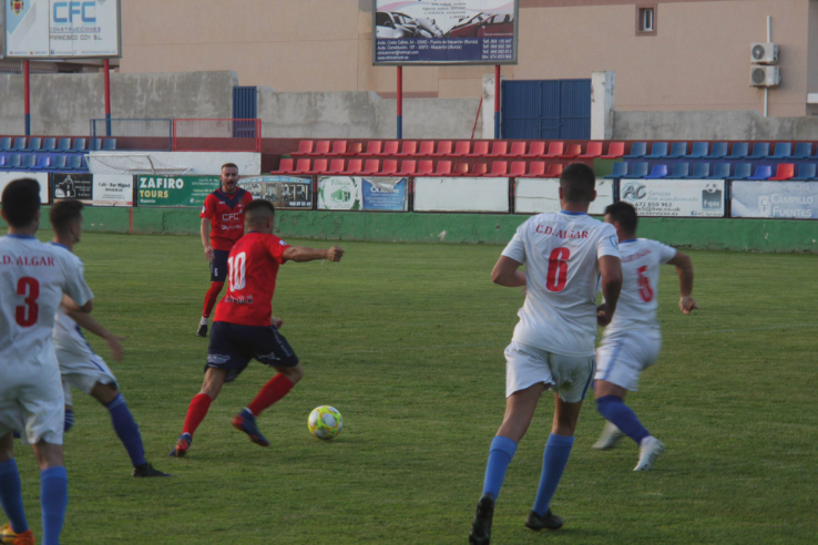 Friendly Match action v CD Algar