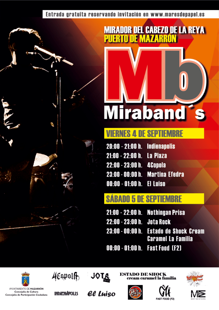Miraband's': A Festival Of Local Artists Developed By The Councils Of Culture And Citizen Participation