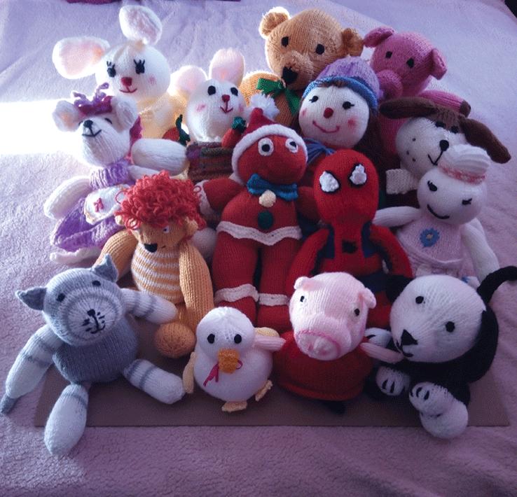 Toys for Rosa Caritas