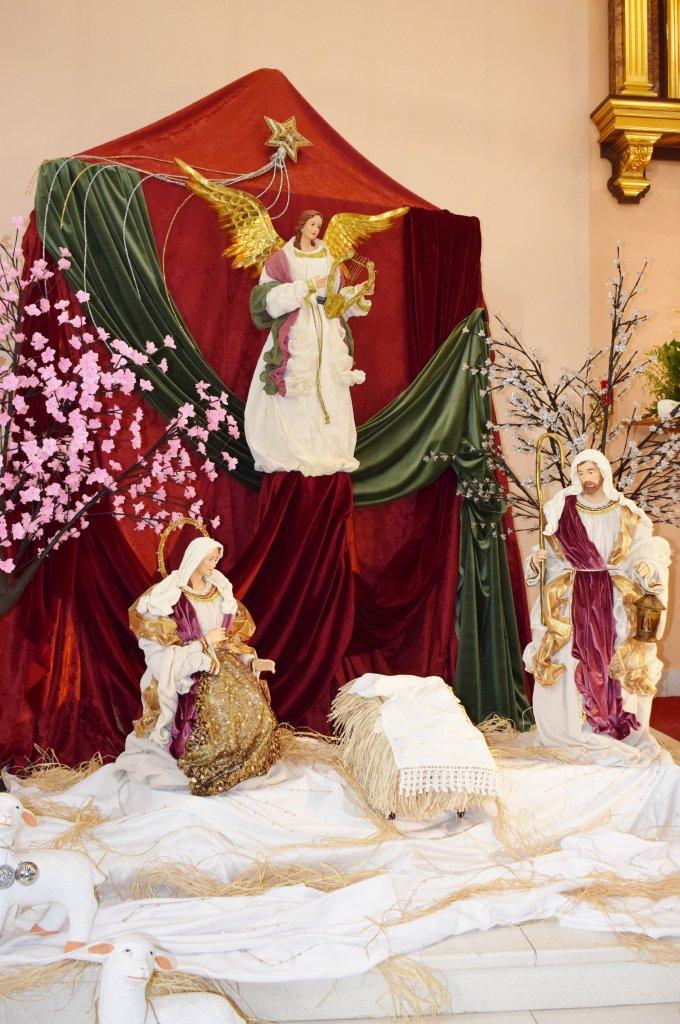 Church of San José de Puerto de Mazarrón hosts an exhibition on nativity scenes