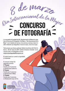 "Photography Contest MARCH 8 ""INTERNATIONAL DAY OF WOMEN"""
