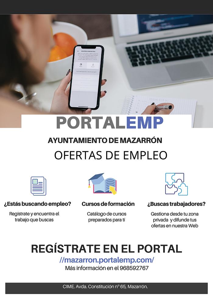 Vacancies Available in Mazarrón Area W/C 1 March 2021