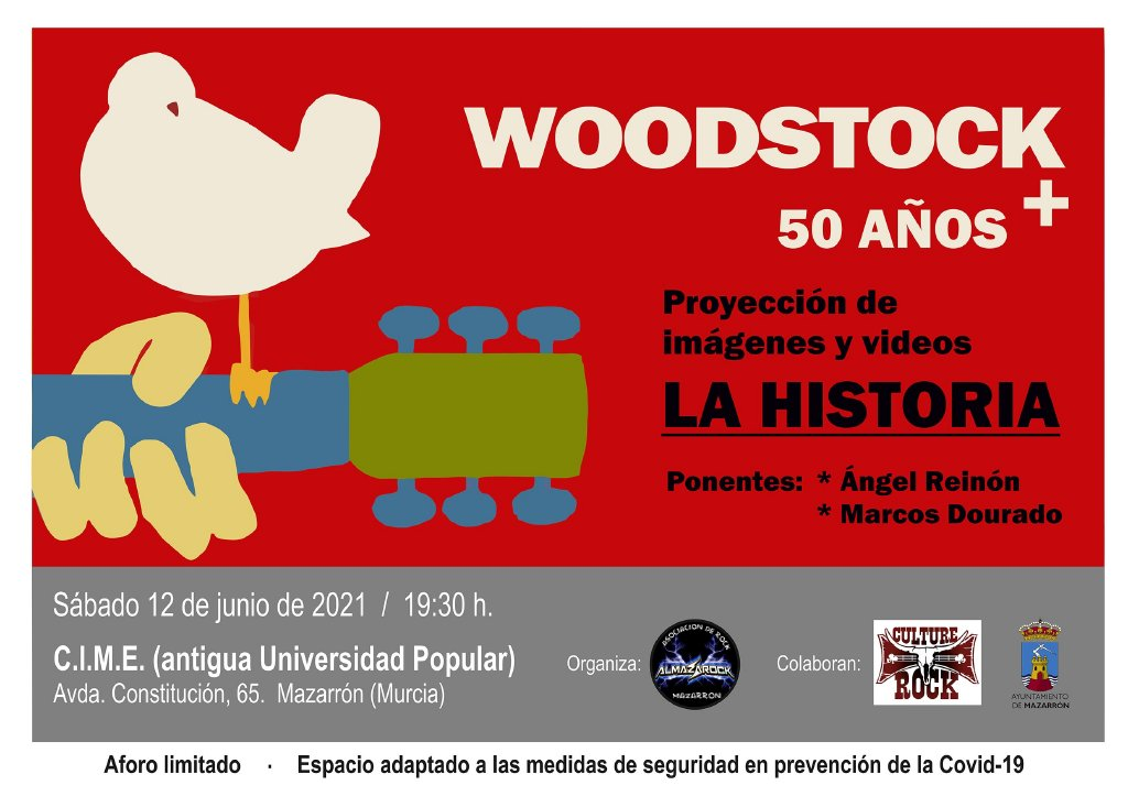 Tribute to the legendary Woodstock music and art festival