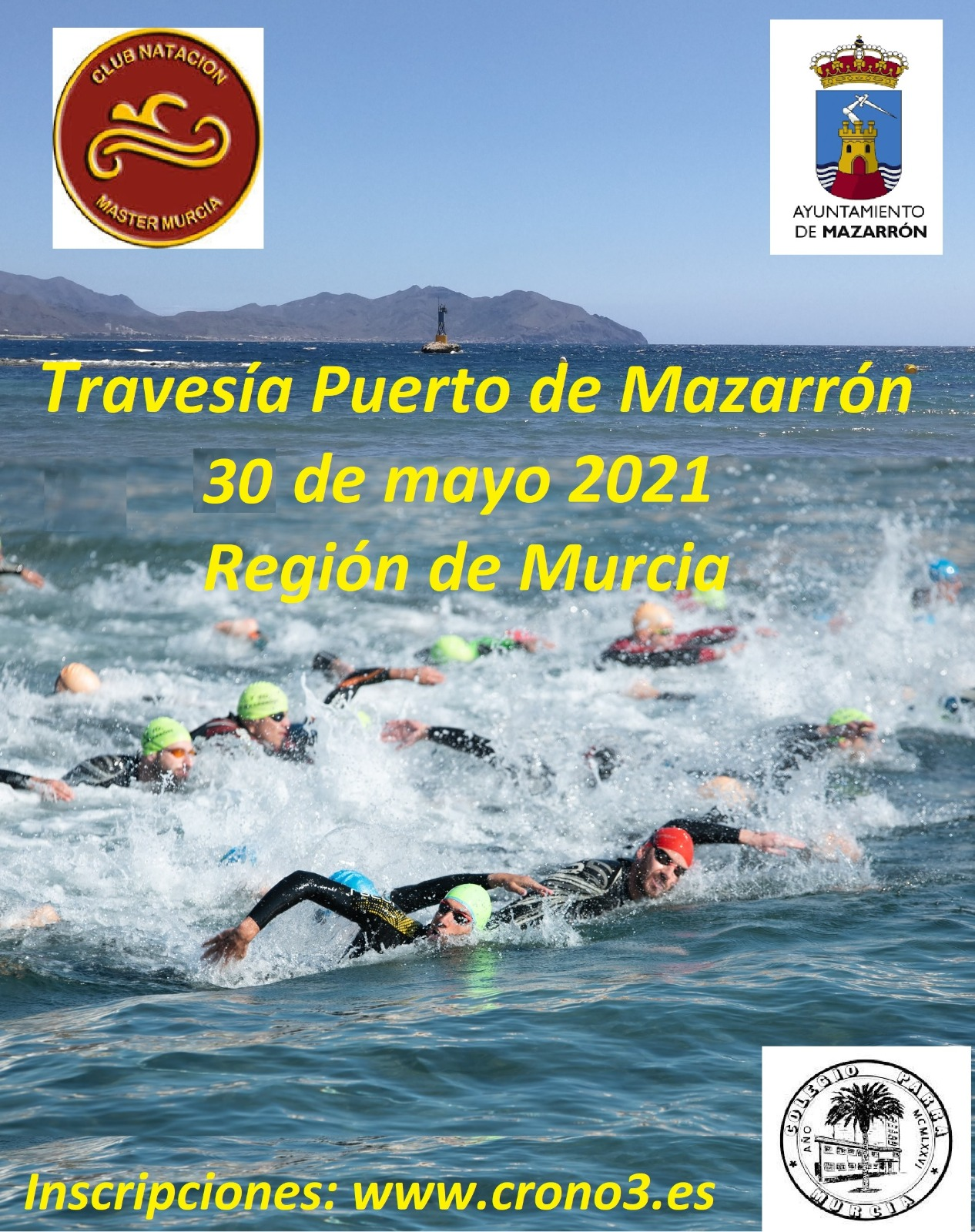 200 SWIMMERS WILL GET AN APPOINTMENT AT THE 'CROSSING PUERTO DE MAZARRÓN'