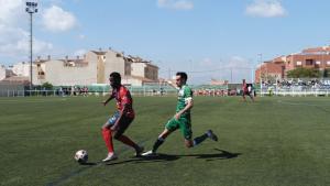 Simpara in action against Los Garres