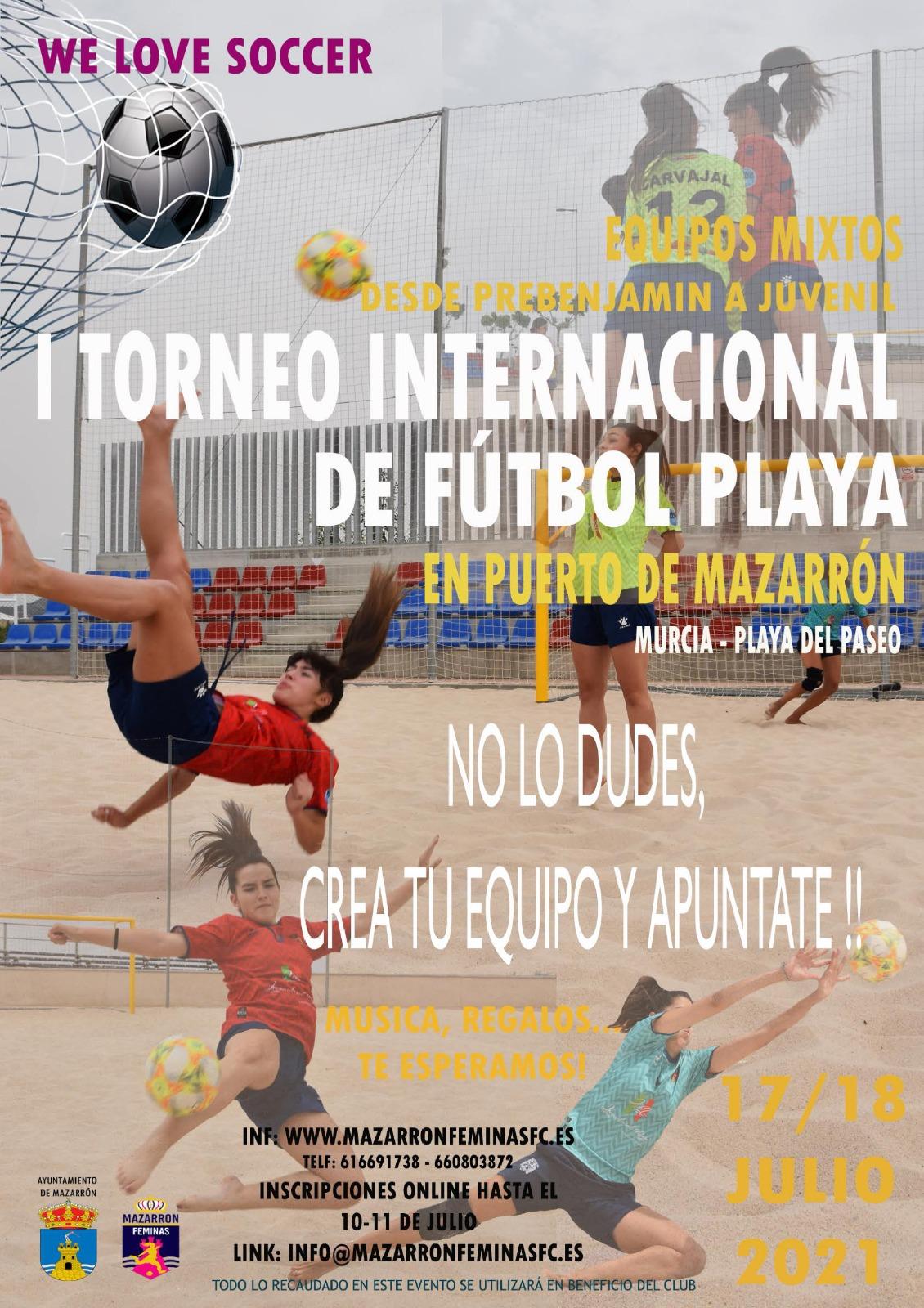 I International Mixed Beach Soccer Tournament