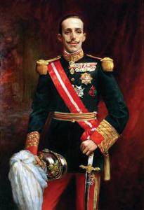 King Alfonso_XIII, by Tomas Martin Rebollo 1915