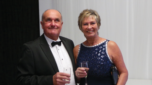 Barbara Marchant with husband Chris