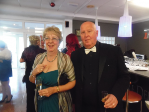 Dave Perks with wife Jan
