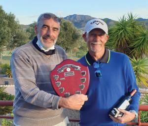 Winners- Roger Olorenshaw &  Marshall Shields
