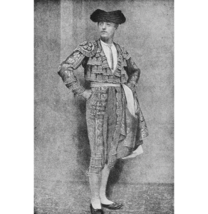 Early 20th C photograph of a toreador