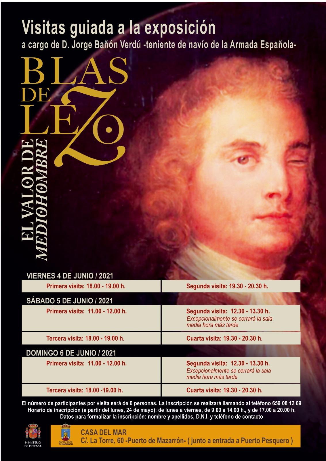Exhibition 'Blas de Lezo. El valor de Mediohombre'
