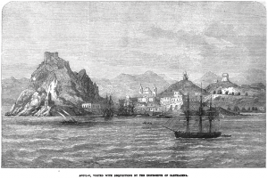 Late 19th century view of Aguilas