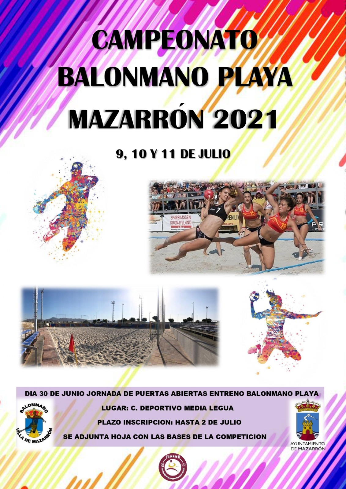 Third Beach Handball championship on July 9, 10 and 11