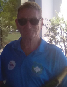 Division three winner CLIVE HATHAWAY