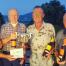 Winners l. to r; Dave Baxter, John Dunbar , Sandy Bayne & Fred Harvey