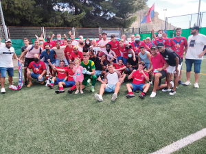 Players and Supporters at Archena