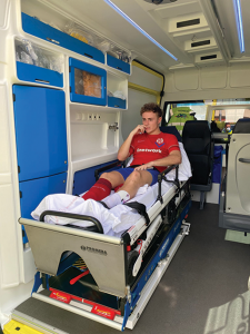 Riquelme Injury at Archena